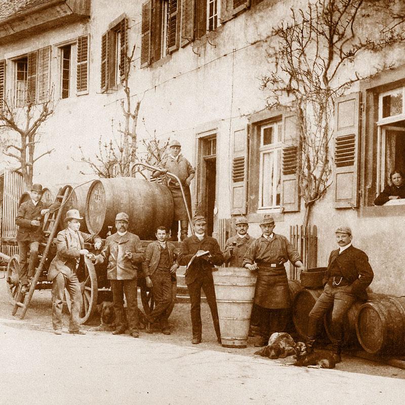 Bild Weingut Julius Zotz - Geschichte