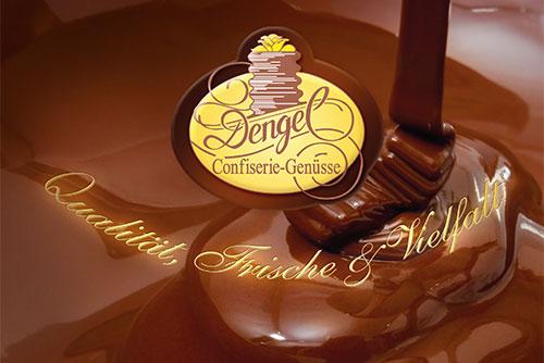 Dengel - Cover Produktkatalog - Edle Pralinen & Feine Schokolade