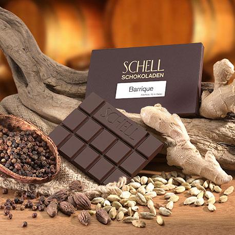 Schell Edelherbe Schokolade - Barrique