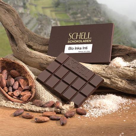 Schell Edelherbe Schokolade - Bio Inka Inti
