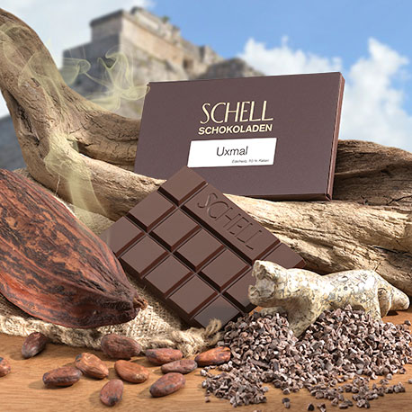 Schell Edelherbe Schokolade - Uxmal