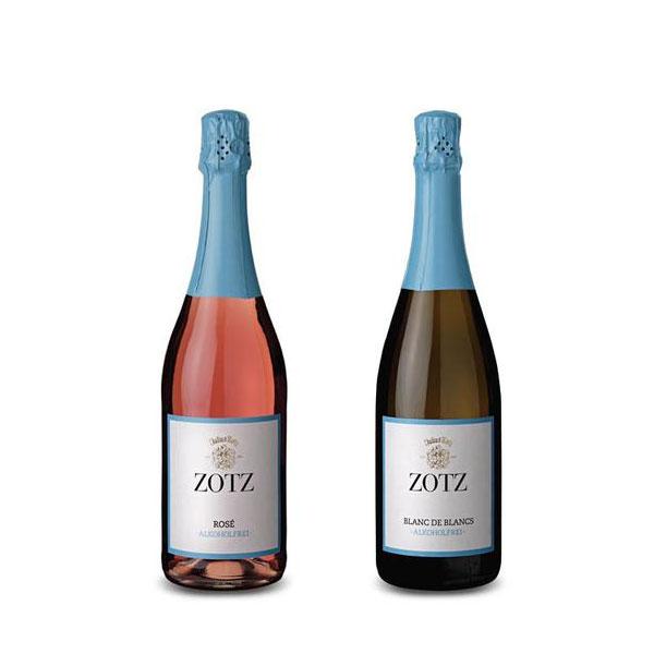 Weingut Zotz - Sekt alkoholfrei - Blanc de Blanc - Rosé