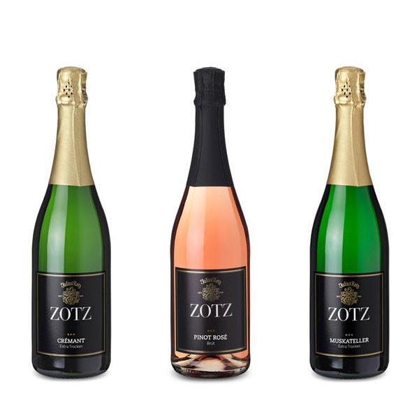 Weingut Zotz - Sekt Baden Crémant - Pinot rosé - Mukateller